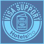 Hotels Pro logo - Visa support