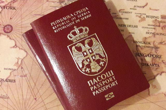 Serbia passport